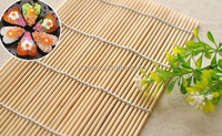 grilling seafood korea rolling mat with top grade bamboo raw material made in china