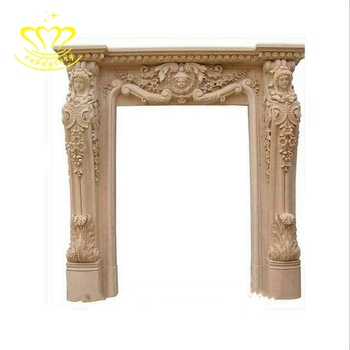 Good Price Stone Carving New Product Antique Marble Door Surround ...
