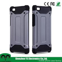 TPU PC combo heavy duty rugged armor case for huawei p8 lite cover