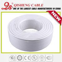 satellite antenna equipment CATV cable flat coaxial cable under carpet