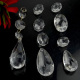 Clear Chandelier Glass Crystals Lamp Prisms Parts Hanging Pendant Crystal Drop