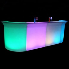 Luminoso tavolo da cocktail, glow mobile da cocktail bancone <span class=keywords><strong>bar</strong></span>, led <span class=keywords><strong>portatile</strong></span> da cocktail <span class=keywords><strong>bar</strong></span>