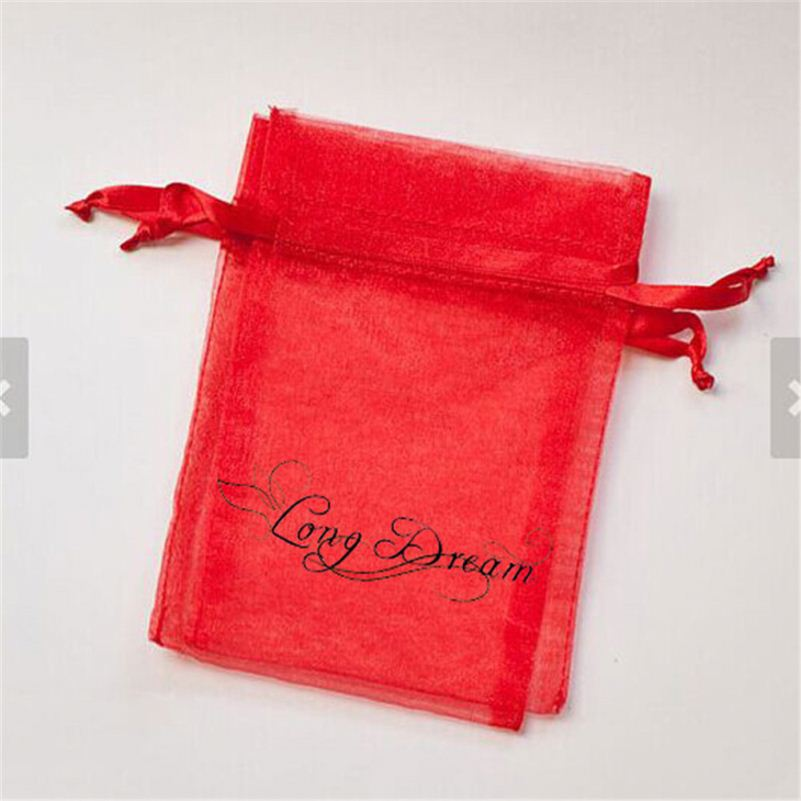 Factory sell big size organza bags 6x9 for wine bottle