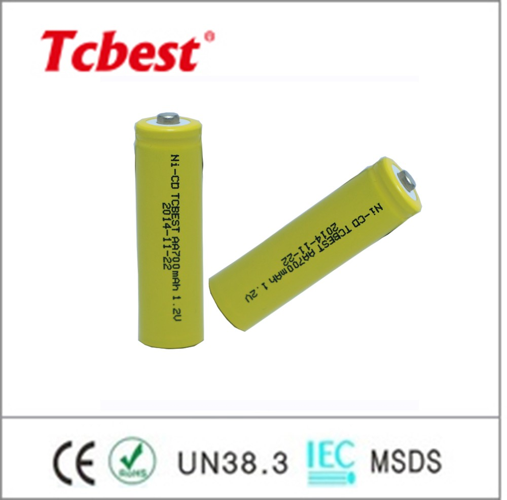 Ni-CD battery AA700mah , Rechargeable Ni-CD battery AA/