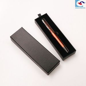 custom pearl ear gift cardboard pen box wholesale