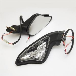 FMIDU001 For DUKATI 848 1098 1098S 1098R 1198 1198S 1198R Motorcycle LED Mirror Turn Signals Blinker Black Look
