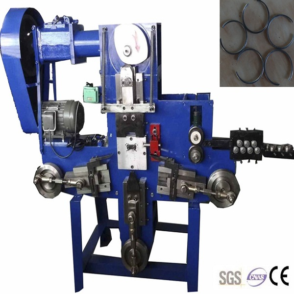 New Promotion Mechnical Metal Wire Key Ring Making Machine from China