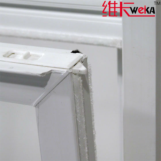 PVC grills double hung window