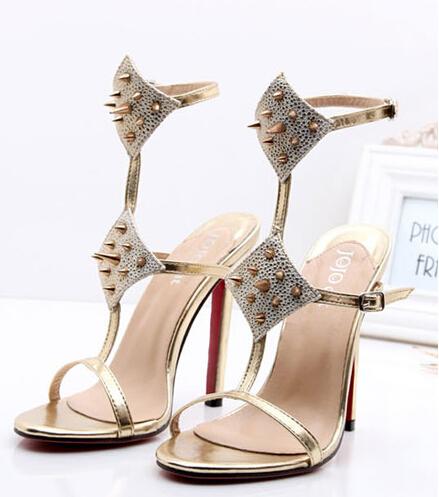 95cb07f483a4 Get Quotations · 2015 New summer ladies women sandals pumps high-heels sexy  campagus high heels star brand