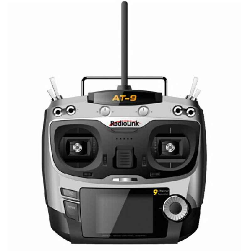 2014 Newest Free Shipping 2.4G 9ch System Rc Radio Transmitter & Receiver