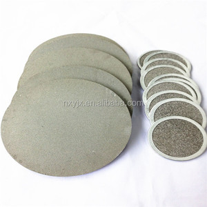 porous parts sintered stainless steel filter disc