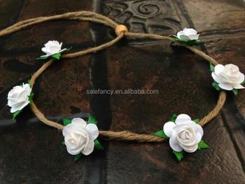 Small White Flower Daisy Flower Indian Artificial Flower Garland