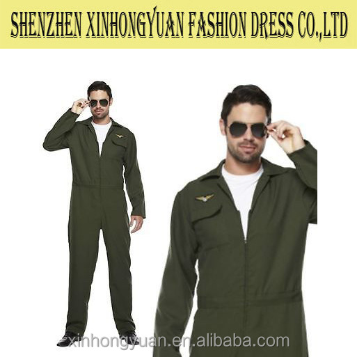 Anti static Pilot Coverall ,airline plane worker coverall
