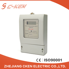 Online Shopping 3 Phase Smart 380V Digital Display Watt hour Meter Three Phase Electric Energy Meter