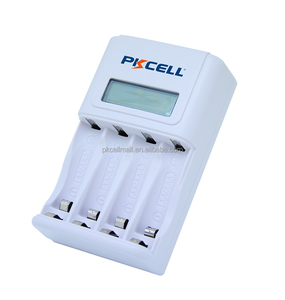 PKCELL rechargeable battery charger for 1.2v NiMH AA AAA battery