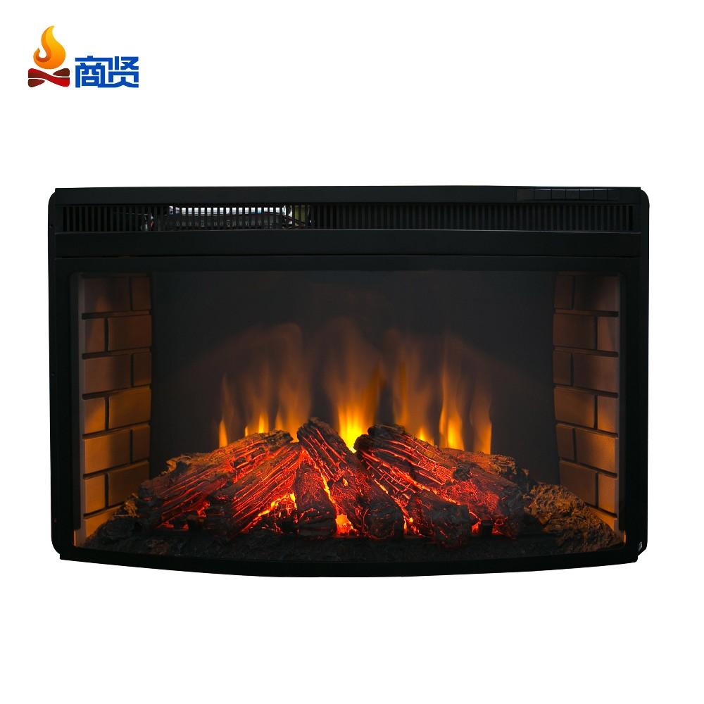 Decorative Electric Fireplace Insert Blower Fans Heater