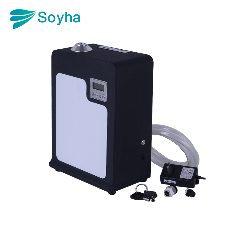 High Quality Big Area HVAC Scent Mist Diffuser Machine For Wall Mounted