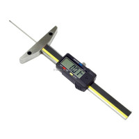 0-100mm Digital Depth Gauge with thin Rod Digital Thin Rod Depth Gauge