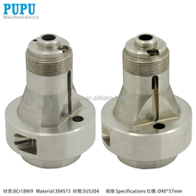 China custom stainless steel CNC turning milling machine parts&central machinery parts