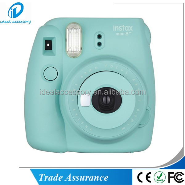 Fujifilm Instax Mini Film Camera Mini8 + con Selfie specchio Color Menta