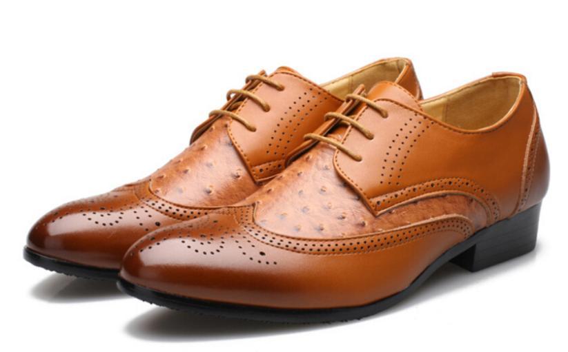 Men fashion dress shoes