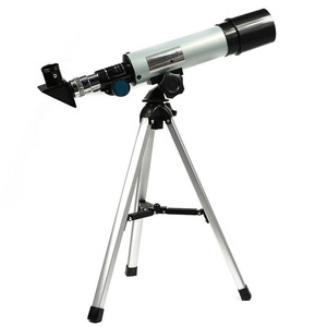 Cheap Aluminum Telescope 360x50mm refractor Astronomical Monocular for Sky Telescope Kid Toy Astronomical Telescope Outdoor Gear