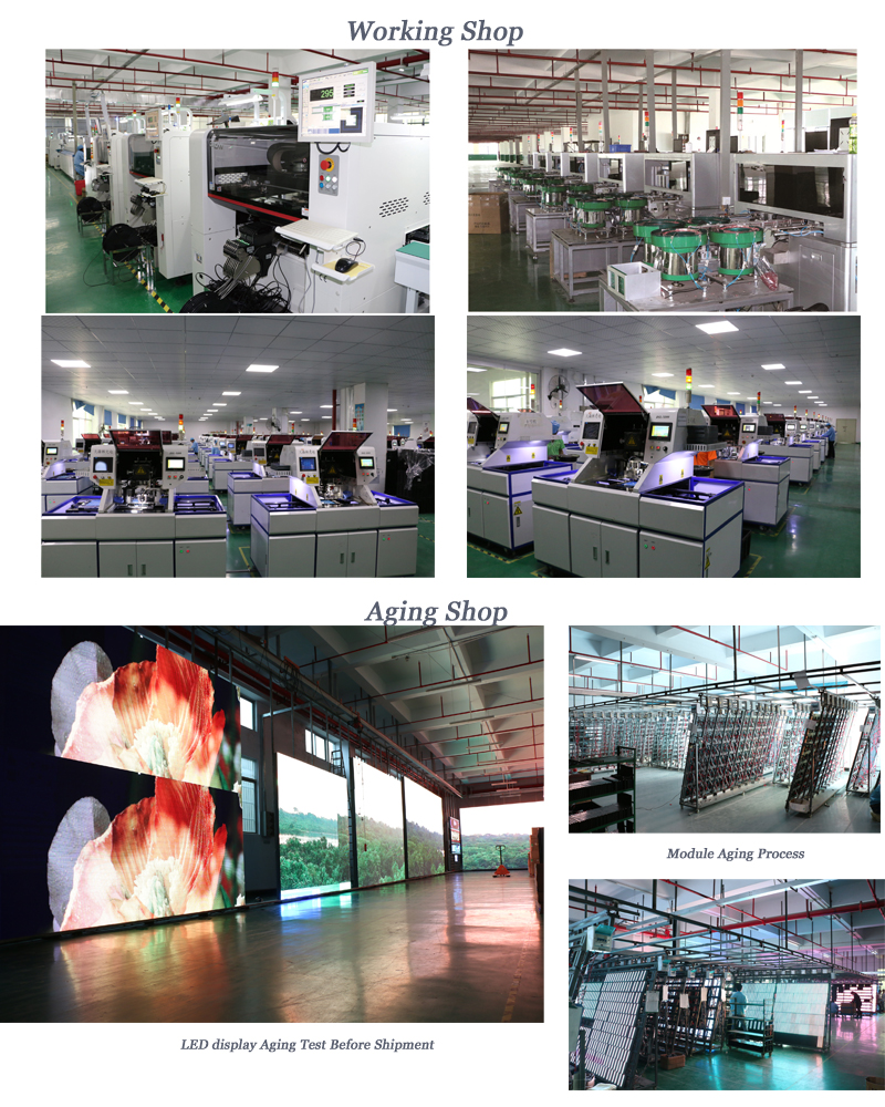 Full Color Indoor P4 Circle LED Screen Display Advertising Flexible LED Video Wall Soft LED Module