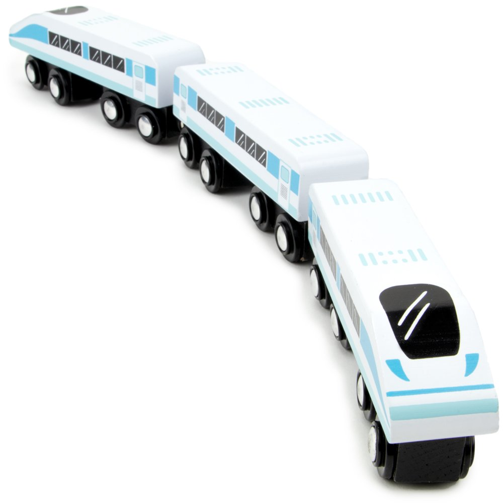 Cheap Bullet Toy Train Find Deals On Line At Solar Educational Diy Kit Get Quotations Express 3 Magnetic Wooden Car Engines Compatible With All Major