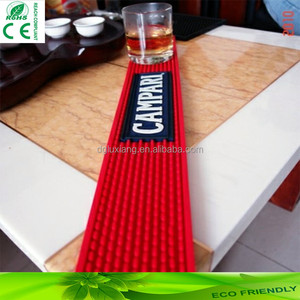 brand new promotional soft pvc bar mat bar accessories vodka