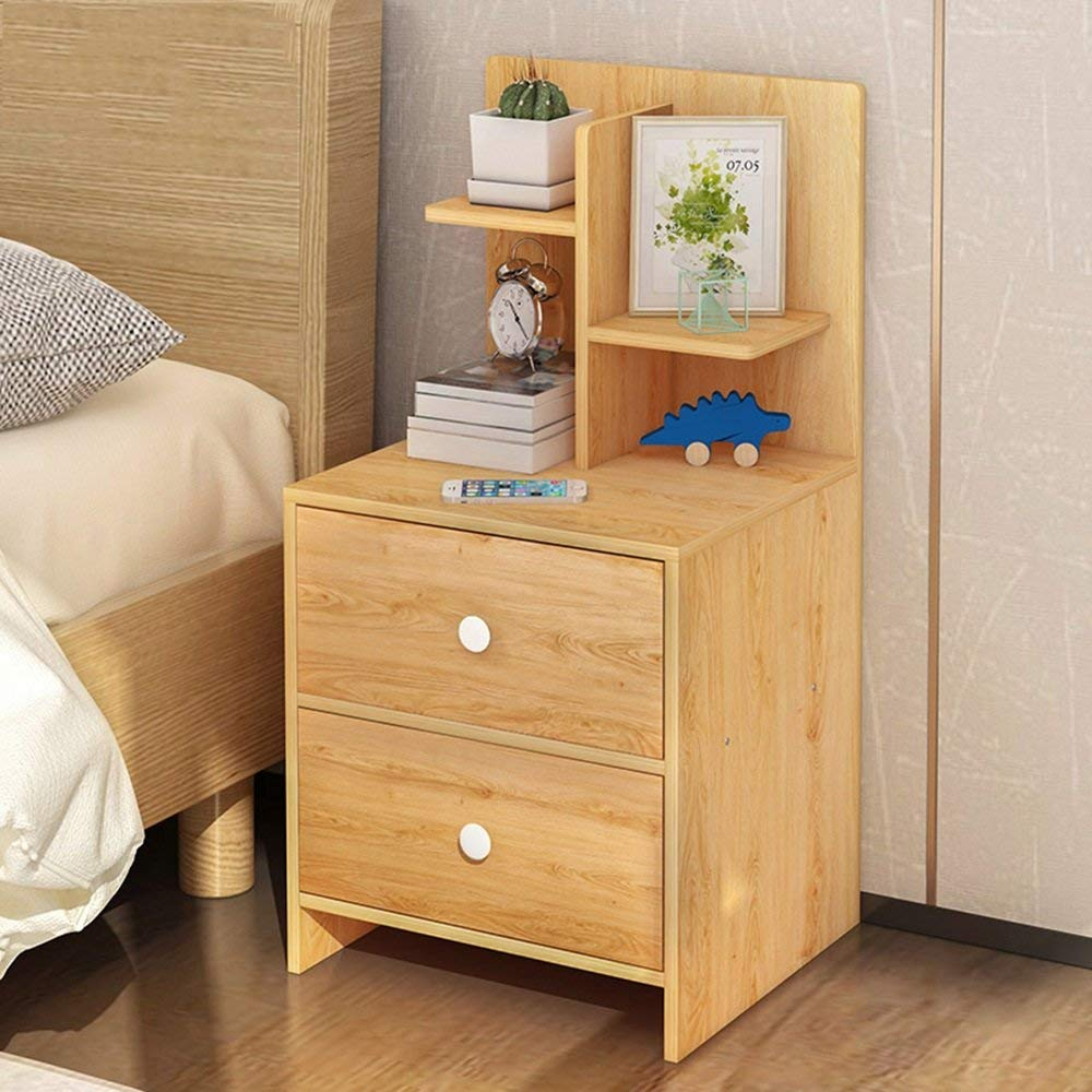 AiHerb.LT nightstand Bedside Cabinets Small Cabinets Storage Cabinets Bedside Lockers (Color : C)