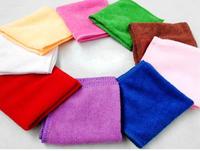 China magic microfiber quick-dry towel solid color super absorbent car washing printed cleaning towel microfiber bath towel