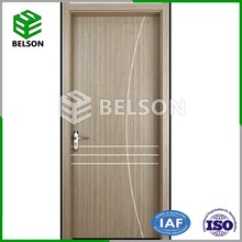 Waterproof Wood Plastic Composite Door Indian Price