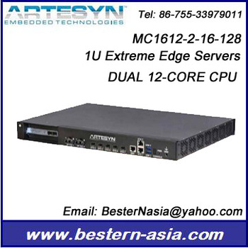 Artesyn MC1612-2-16-128 DUAL CPU EXTREME EDGE SERVER