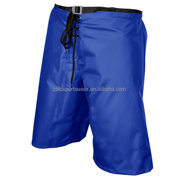 Classics Custom Made Mens Nylon blue Ice Hockey Pant Shell
