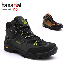 Waterproof breathable hiking shoes for men / shoes men sport climbing