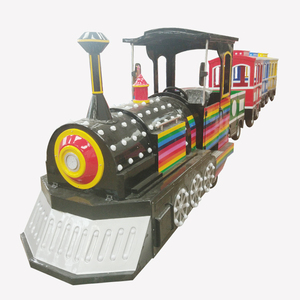 family entertainment rides high speed modern trackless tourist train