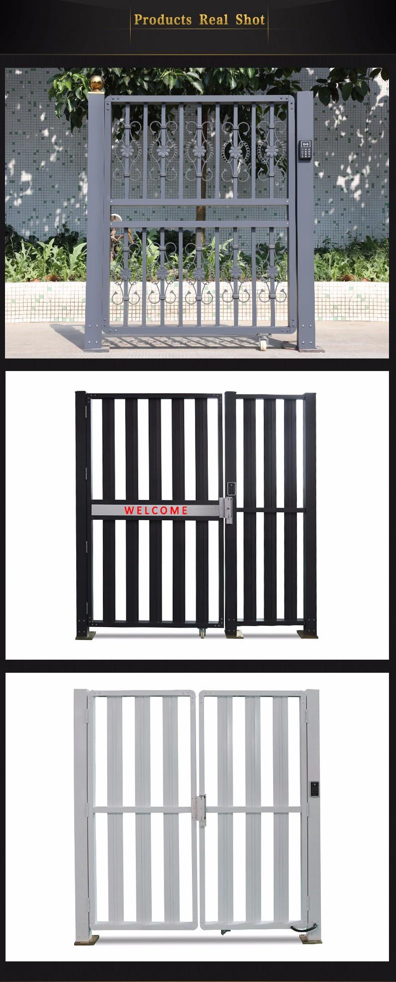Ornamental pequeno moderno casa de portão projeto portão principal