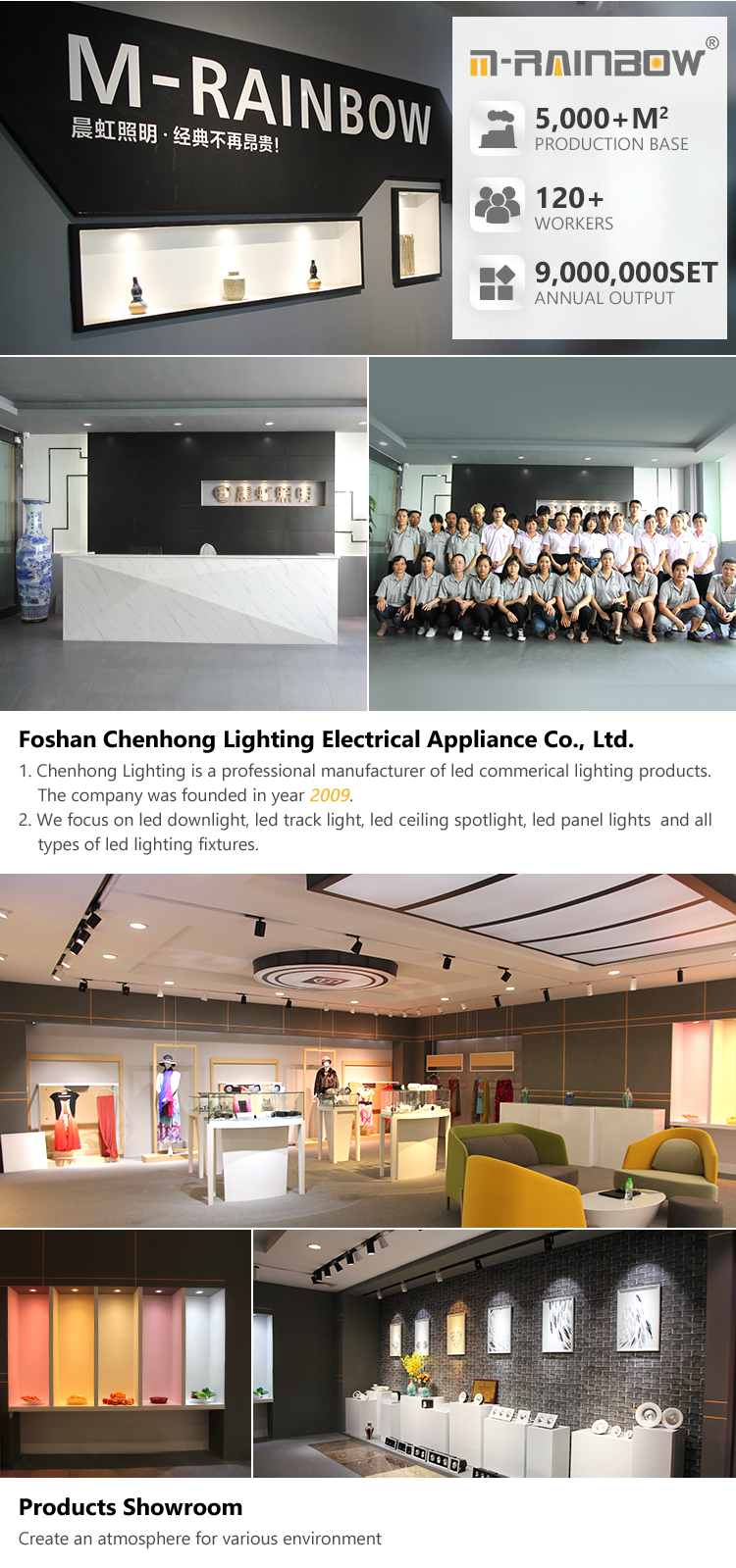 LED Light Clothes Store 50W 60W 4wires Led Track Rail Ceiling Spot Light 40W cob Recessed Light for hair mobile shop