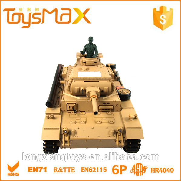 Unique design 1:16 high and low speed professional remote control plastic tank with super chassis
