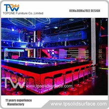 2017 new bar counter designs for nightclub