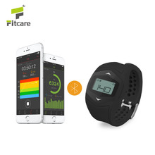 Bluetooth bracelet and heart rate monitor smart watch silicone wristband