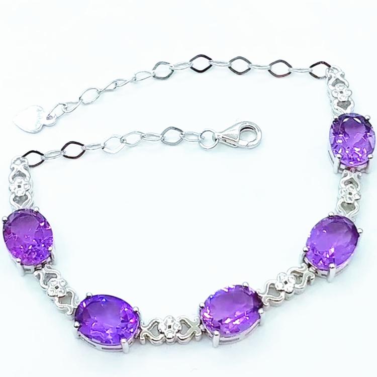 4958f4c48450 Joyas de piedras preciosas de fábrica al por mayor venta al por mayor nuevo  moda 925