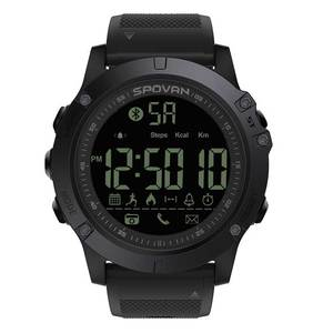 Spovan Waterproof Phone Reminder and Camera Remote Control Smart Watch Bluetooth
