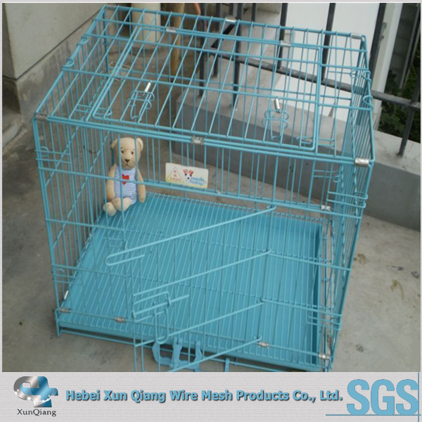 two door 5ft dog kennel cage