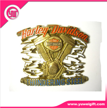 Harley Davidson die stamping color filling Belt Buckles