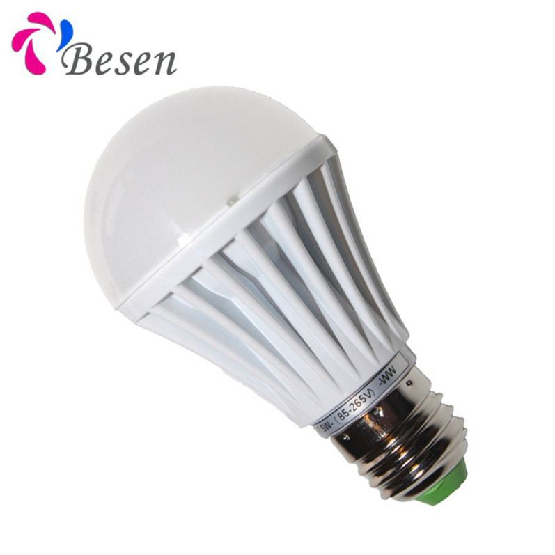 Dimmable Filament Bulb A19 Plastic Led 5w Indoor Light 330 Degree Beam Angle 12w Different Color Temperature