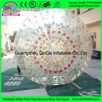 Made in China custom inflatable pool toys zorbing locations buy from Guangzhou walking water zorb ball