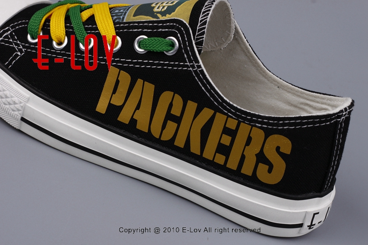 10c48c259d0 Wisconsin Super Bowl Printing Canvas Shoes Elite Aaron Rodgers MVP Champ  Fans Customize Painted Shoe Souvenirs