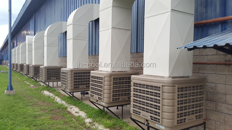 Side Discharge Industrial Evaporative Air Cooler And