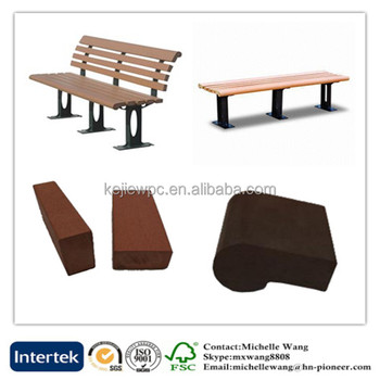 Hot Wood Plastic Composite Wooden Chair Slats Bench Replacement